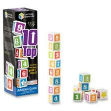 Learning Resources LRN1767 10 To The Top Addition Game
