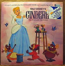 NEW SEALED UNPLAYED MONO CHILDREN'S LP:CINDERELLA THE STORY & THE SONGS 3908 '69