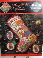 Merry Trolls of Christmas Stocking Cross Stitch Pattern Booklet Great Big Graphs