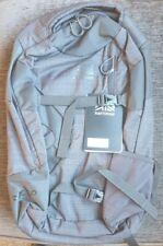 Unisex Karrimor Indie 20 Rucksack Grey New 20L litre 700g