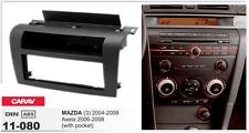 CARAV 11-080 1Din Marco Adaptador Kit Instalacion Radio MAZDA 3 2004-2008, Axela
