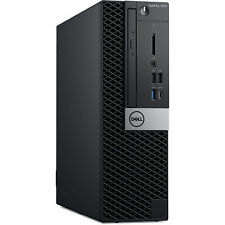 Dell Optiplex 7070 SFF Intel Core i5 9500 256GB 8GB DVD Win 10 Pro Desktop PC 3Y