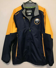 Reebok NHL Center Ice KINETIC FIT Buffalo Sabres Full Zip Jacket Men's L