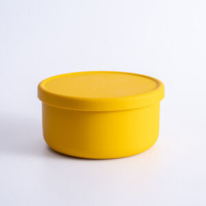 Microwave Safe Silicone Bowl w/ Lid Kitchen Home Outdoor Food Storage Containers