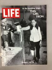 Life Magazine Nov 1968 The Edge Of Peace A Girl Named Tron Color Car Ads Article