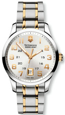 Victorinox Swiss Army Men's Classic Alliance Swiss Made 2 tone Watch 241324