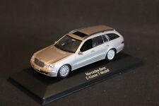 Minichamps (DV) Mercedes-Benz E-Klasse T-Modell 1:43 Cubanitsilber (JS)
