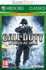 CALL OF DUTY - WORLD AT WAR - CLASSICS - XBOX 360 BRAND NEW FREE DELIVERY