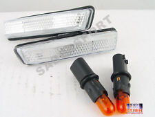 Set of Pair Clear Side Marker Lights for 2000-2006 BMW X5 E53 3.0i 4.4i 4.6
