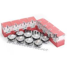 8x Pistons & Rings Set STD Mahle Φ87mm For BMW 540i 740i E60 E65 E66 N62B40 4.0L