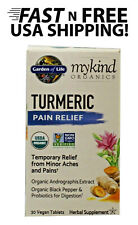 Garden of Life Turmeric Pain Relief MyKind  30 count FREE USA SHIPPING!