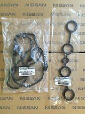 NISSAN 200SX S14 S15 SR20DET  ROCKER COVER GASKET SET  BLACK TOP VVT GENUINE