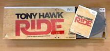 Tony Hawk Ride Wii Bundle - Skateboard & Game - Original Packaging