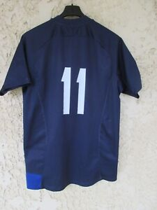 Maillot rugby QUINZE de FRANCE Christophe DOMINICI n°11 NIKE shirt vintage M