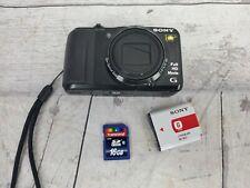 Sony Cyber-shot DSC-HX20V 18.2 MP Digital Camera - Black w/ SD card