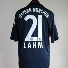 Bayern MONACO AWAY FOOTBALL SHIRT Per Adulti Grandi LAHM #21 2008/2009