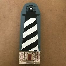 Cat'S Meow Village - 1990 Lighthouse Series - Cape Hatteras Lighthouse Faline 91