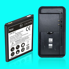 Fits Samsung Galaxy Note 2 II N7100 Battery Replacement EB595675LA/LU w/ Charger