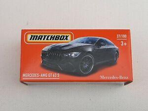 Matchbox power grab series 21. Mercedes amg gt 63 Neuf en boite. Lire descriptif
