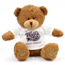 THE WORLDS BEST BEAUTY theraprist Teddy Bear
