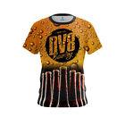 DV8 Mens Dye Sub Beer CoolWick Performance Crew Bowling Shirt