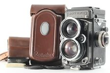 【EXC+++++ in Case】Rolleiflex Wide Rollei TLR Camera 55mm F4 Lens from JAPAN 1098