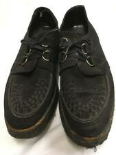 Vintage 1950s Brothel creepers Black size 11 Crepe soles rocker teddy boy 1960s