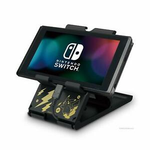 Hori Nintendo Switch Playstand Console Stand Pokemon: Pikachu Black & Gold