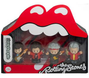 Fisher Price Little People THE ROLLING STONES Special Edition Set NEW in hand