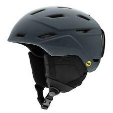 Smith Mens Mission MIPS Ski Snow Helmet Matte Charcoal