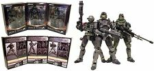 Halo Reach Square Enix Play Arts Kai Series 1 Figures Jun, Emile, Noble Six CASE