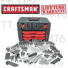 Craftsman 270 pc Mechanics Tool Set with 3-Drawer Chest LIFETIME Wr# 254 265 289