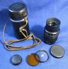 TAIR- 11A USSR lens f2.8 / 135 mm M42 mount SLR camera Zenit Pentax