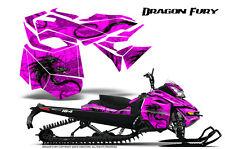 SKI-DOO REV XM SUMMIT SNOWMOBILE CREATORX GRAPHICS KIT DRAGON FURY PINK