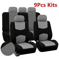 Auto Fundas de asiento fr Car Sedan Universal 5-Seats Seat Covers Mesh 9pcs Kits