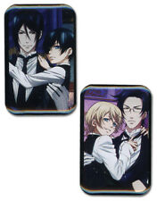 Pin Set - Black Butler 2 - New Sebastian/Ciel & Claude/Alois (Set of 2) ge50505