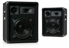 COPPIA CASSE OMNITRONIC DX-822 300 Watt 3 vie Box PA studio DJ  8 ohm