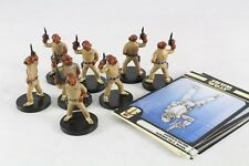 Star Wars Miniaturas Rebel Storm Mon Calamari. mercenario X 8