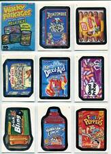 Wacky Packages Ans 6 All New Series 6 2007 Topps 80 Card Complete Set + Wrapper