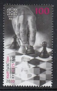 KYRGYZSTAN Online Chess Olympiad MNH stamp