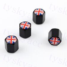 Accessories Wheels Air Dust Tire Tyre Valve Cap England UK United Kingdom  Flag