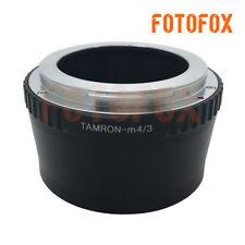 Tamron-M4/3 Tamron Lens to Micro Four Thirds 4/3 M4/3 Adapter E-P1 E-P2 GF1 GH1