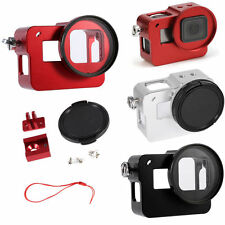 Aluminum Alloy Protective Housing Shell Case Frame Filter Lens For Gopro Hero 5