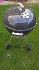 Weber 57cm Original Kettle Premium Charcoal Barbecue/BBQ Black used