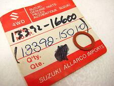 SUZUKI NOS CARBURETOR VALVE SEAT GASKET GS GT PE RM RS TM TS TC305 T500 T350