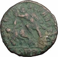 CONSTANTIUS II Constantine the Great  son  Sirmium  Roman Coin Horse man i33353