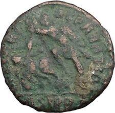 CONSTANTIUS II Constantine the Great  son  Sirmium  Roman Coin Horse man i33353