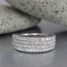Ring mit 1,20ct Brillant W-si in 750/18K Weißgold Neu UVP.: 5.000,- €