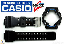 CASIO GA-110HC G-Shock Original Black (Glossy)BAND & BEZEL Combo GD-100HC GD-110