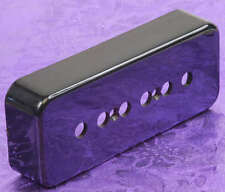 Lindy Fralin Premium Black P90 P-90 Soap Bar Pickup Cover! The BEST You Can Buy!
